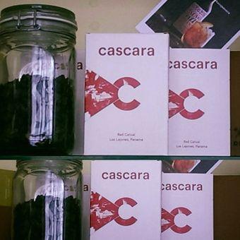 Cascara - čajový nápoj z kávovej čerešne