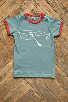 Tričko s krátkym rukávom - Čln