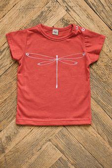 Tričko z tenšej bavlny - Vážka